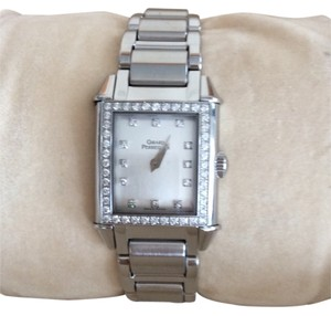Girard-Perregaux Ladies Girard Perregaux Stainless Steel Watch With Diamonds