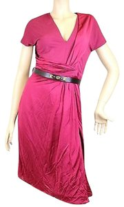 Maroon Maxi Dress by Gucci Wgg Belt M