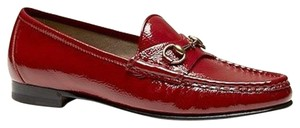 Gucci 1953 Patent Leather Red Flats