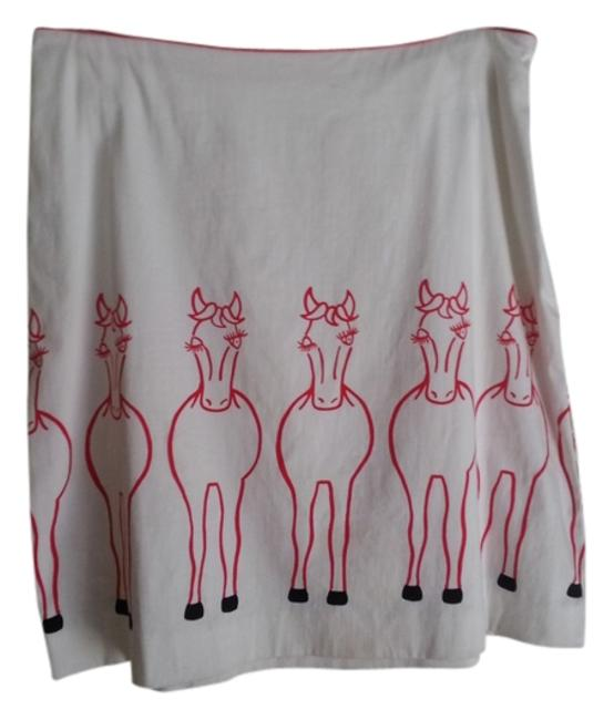 Preload https://img-static.tradesy.com/item/933974/cream-with-red-claude-brown-horse-knee-length-skirt-size-8-m-29-30-0-0-650-650.jpg