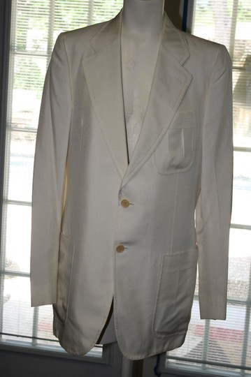 Vanilla Vintage Silk Colored Two Piece Suit Tuxedos