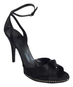 Gucci Sandal Swarovski Black Pumps
