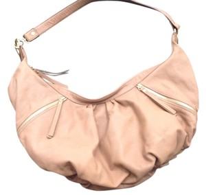 Helena de Natalio 2 Zippered Pockets In Front 1 Zippered Inside Plus 2 Smaller Ones Gold Hardware Shoulder Bag