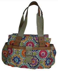 Lily Bloom Satchel in Multi Floral