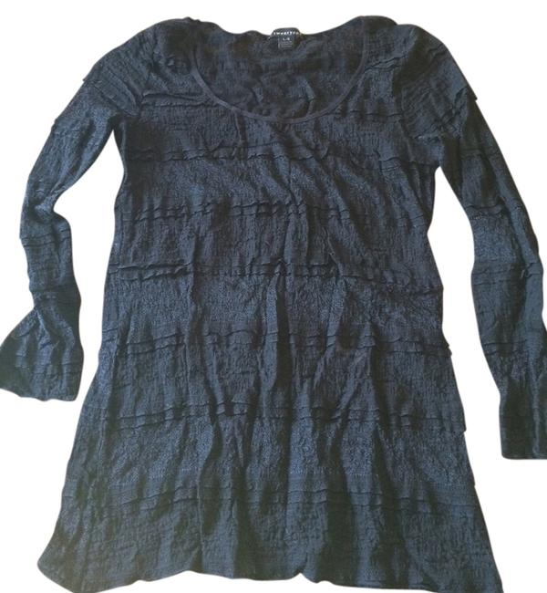Preload https://item3.tradesy.com/images/forever-21-black-sheath-lace-night-out-top-size-8-m-934097-0-0.jpg?width=400&height=650