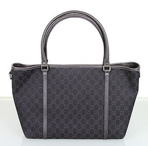 Gucci Gg Joy Handbag Denim 265695 1086 Tote in Brown