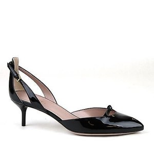 Gucci Patent Leather Pump Black Pumps
