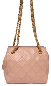 Chanel Lambskin Leather Shopping Executive Petite Shoulder Bag
