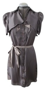 BCBGeneration Casual Collar Button Bcbg Satin Dress