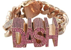 dash DAMON DASH DESIGNER 14K SOLID ROSE GOLD BRACELET 575 DIAMOND 1135 RUBIES CELEBRITY