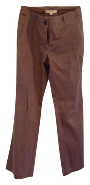 Ann Taylor LOFT Chino Casual Dressy Work Khaki/Chino Pants Grey, Khaki, Light Purple