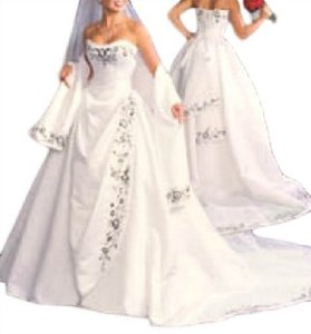 Maggie Sottero 2001 Desirae Bt535 Ivory/champagne/blush 4-pc. Corset Ballgown Wedding Dress