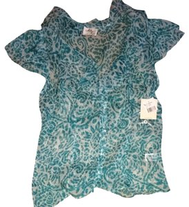 MILLY Top Bright Blue