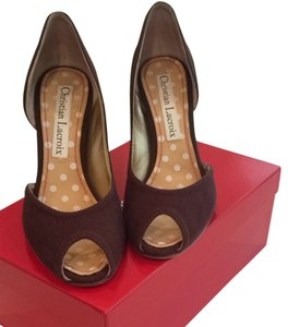 Christian Lacroix Chocolate Pumps