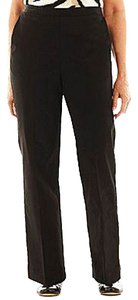 Alfred Dunner Straight Pants BLACK