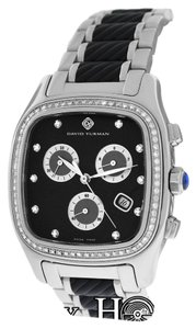 David Yurman David Yurman Thoroughbred T307-CST Chronograph Diamond Watch