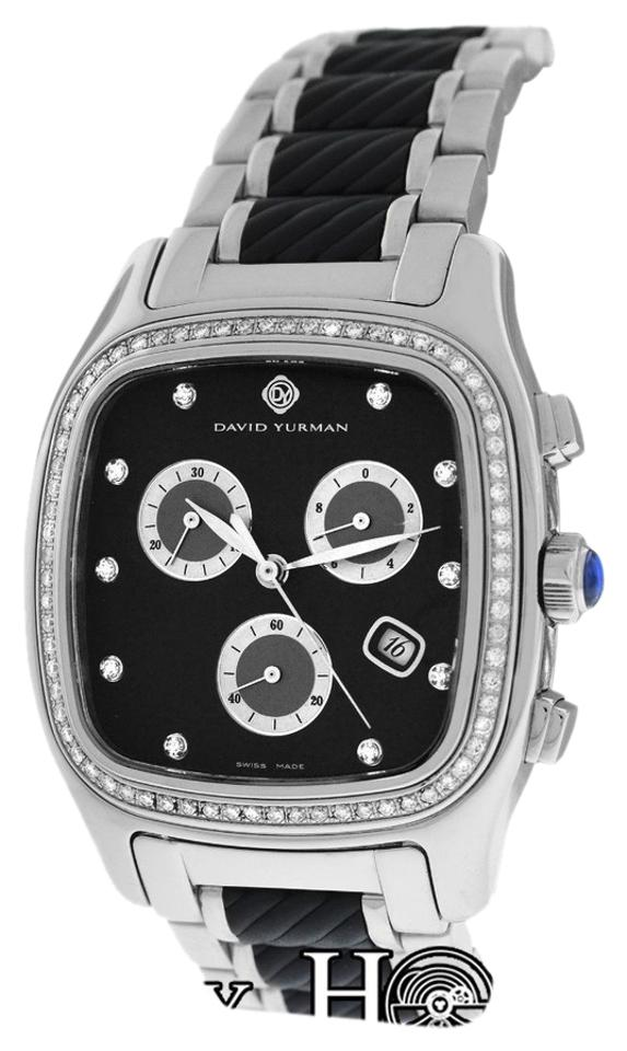 david yurman watches on up to 70% off at tradesy david yurman david yurman thoroughbred t307 cst chronograph diamond watch