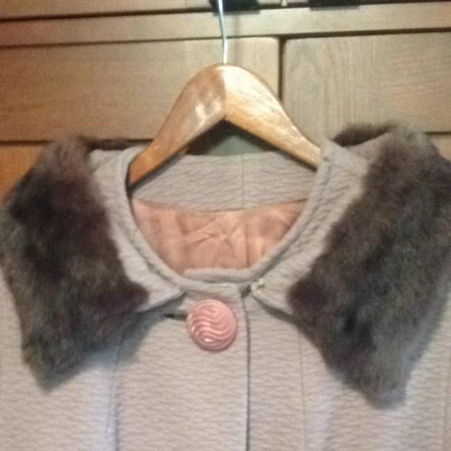 Preload https://item5.tradesy.com/images/taupe-fur-coat-size-10-m-934589-0-0.jpg?width=400&height=650