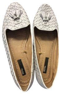 BDG Loafers White Flats