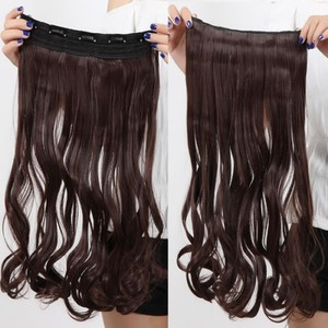 Bogo Free Dark Brown Full Head Hair Extension Free Shipping