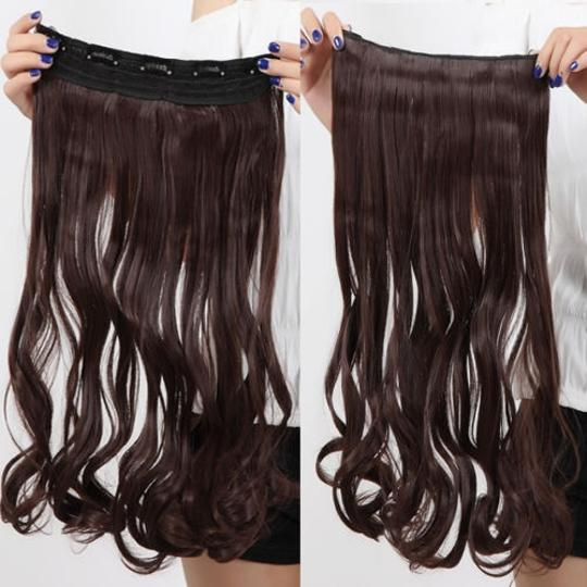 Preload https://item3.tradesy.com/images/brown-bogo-free-dark-full-head-extension-free-shipping-hair-accessory-934767-0-0.jpg?width=440&height=440