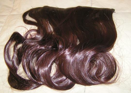 Brown Bogo Free Dark Full Head Extension Free Shipping Hair Accessory