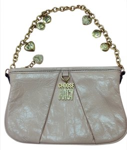 Juicy Couture Wristlet in Beige