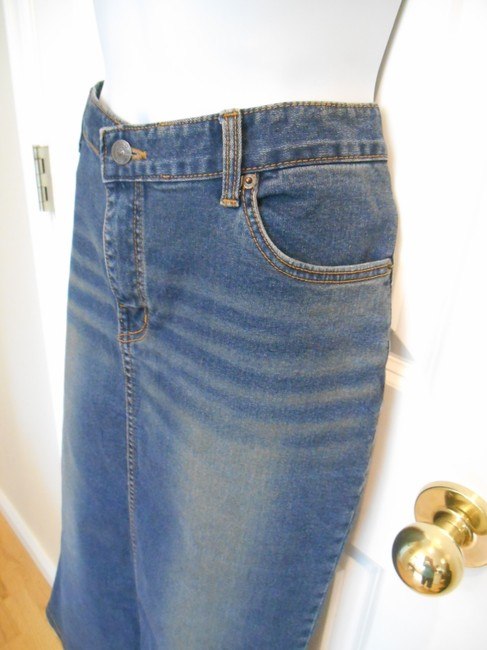 Bonanza Jeans Skirt Summer Essential Blue Blue 02 2 P Small Xs 30 30w 30waist Casual Classi Classic Traditional Euc Wonderful Back Skinny Jeans-Medium Wash