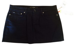 JOE'S Jeans Mini Skirt Black