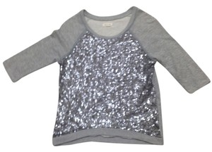 Silence + Noise Sequin Sweatshirt Sweater