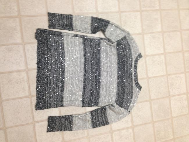 One A (Nordstrom) Sequin Stripes Sweater