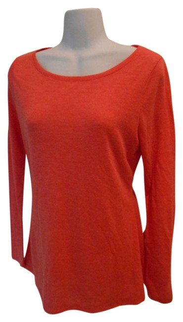 Preload https://img-static.tradesy.com/item/935178/old-navy-coral-sleeve-small-4-tee-shirt-size-6-s-0-0-650-650.jpg