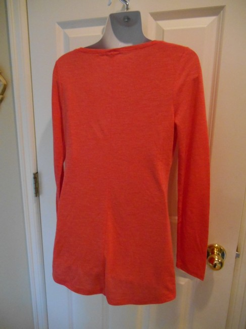 Old Navy Long Sleeve Small 4 6 8 Layers T Shirt Coral