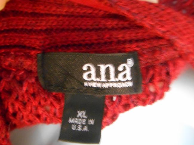 a.n.a. a new approach Cardigan Xl 14 16 Shrug Jacket Work Work Casual Office Ana Knit Gathered Back Gathered Back Cape Sleeves Low Sweater