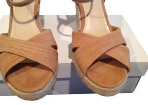 Talbots 4 Light brown Wedges