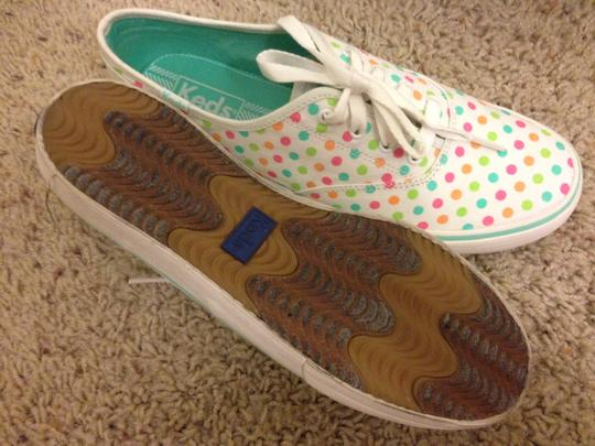 Keds Keds DBL Dutch Dot Wht Multi 7 1/2M