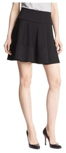Robbi & Nikki by Robert Rodriguez Flared Tiered Nwot Jersey Flare Casual Skirt Black
