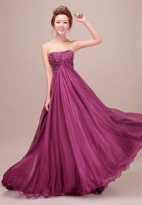 Purple Purple Woman Long Chiffon Bridesmaid Evening Gown Prom Formal Party Es Dress Dress