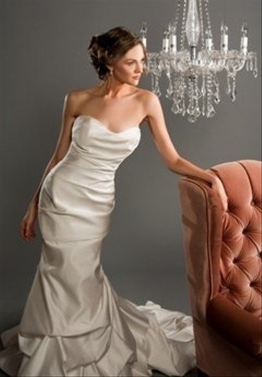 Winnie Couture White Satin Romonna Traditional Wedding Dress Size Other