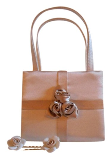 Preload https://item3.tradesy.com/images/rosette-purse-hair-clips-evening-cream-and-tan-rayon-satin-baguette-935697-0-0.jpg?width=440&height=440