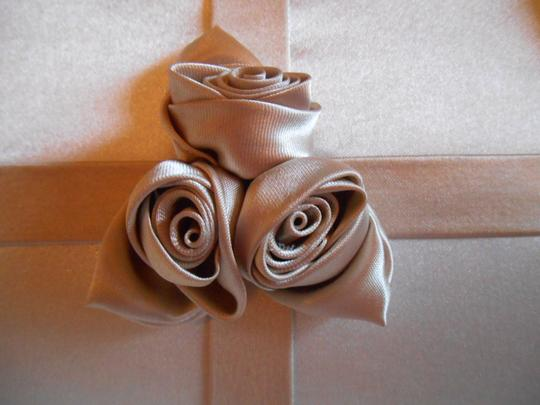 Other Prom Evening Hair Clips Roses Rosettes Satin Package Present Gift Handles Cord Shoulder Clutch Purse Tote Party Baguette