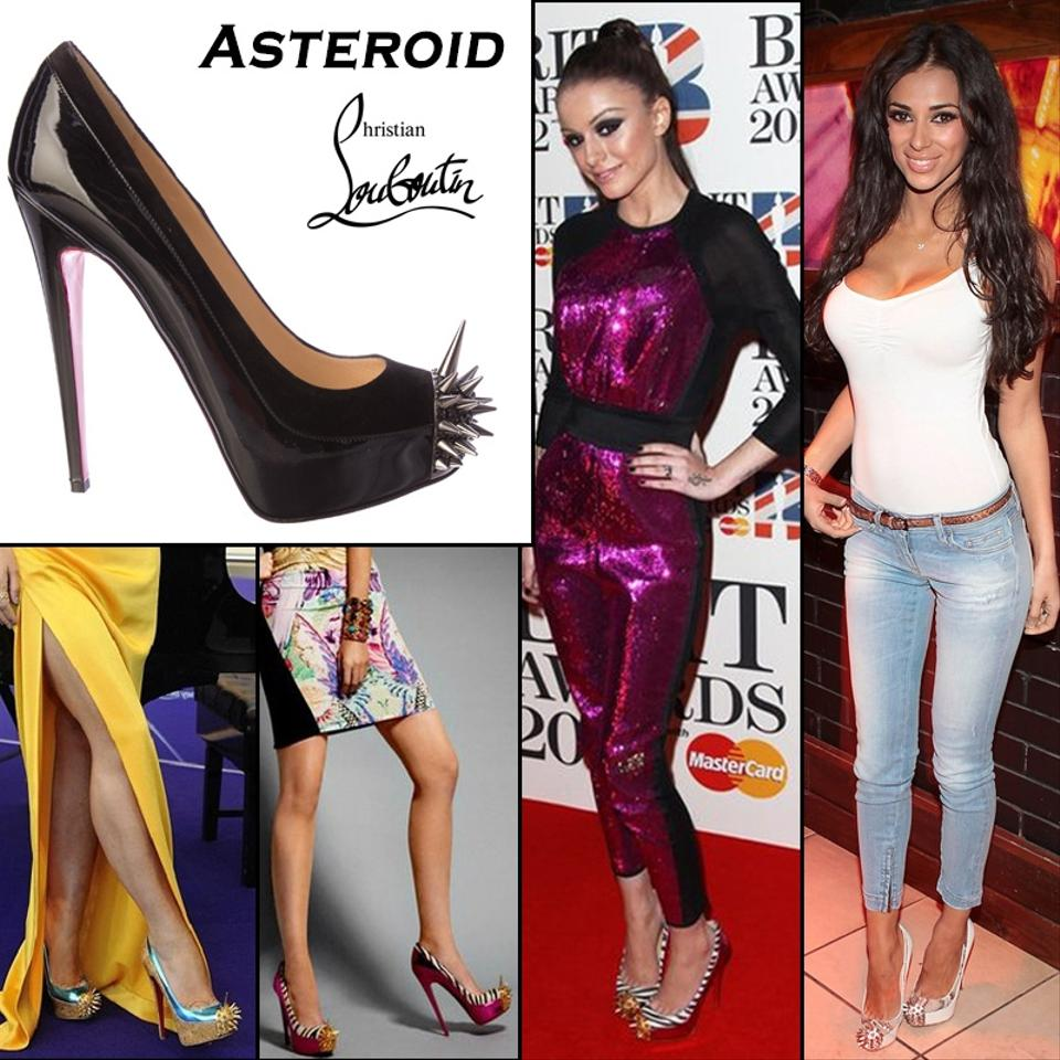 919de9851a7 Details about Christian Louboutin Black Asteroid 160 Platform Pumps EU 40  US 9