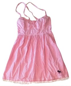 fb2394e10eb9 Abercrombie   Fitch short dress Pink and White on Tradesy