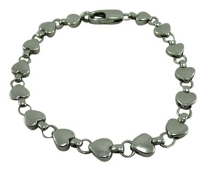 Tiffany & Co. Tiffany & Co Sterling Silver 925 Heart Bracelet