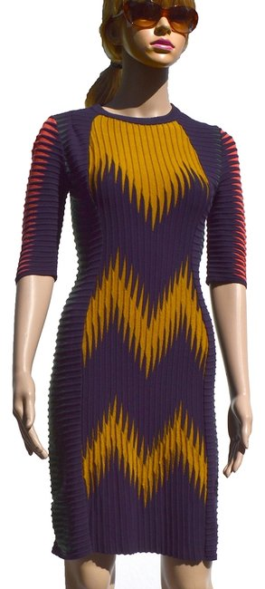 Preload https://img-static.tradesy.com/item/936551/missoni-mustpurpcoragreen-above-knee-workoffice-dress-size-8-m-0-0-650-650.jpg