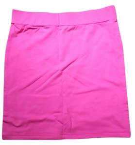 Forever 21 Bright Girly Mini Skirt Bright pink