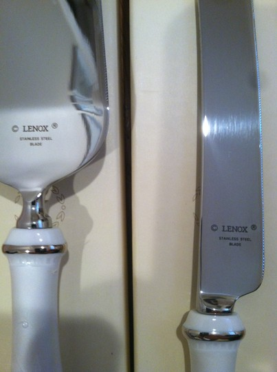 Other Lenox Opal Innocence Cake Knife and Server Set