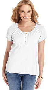Karen Scott T Shirt White