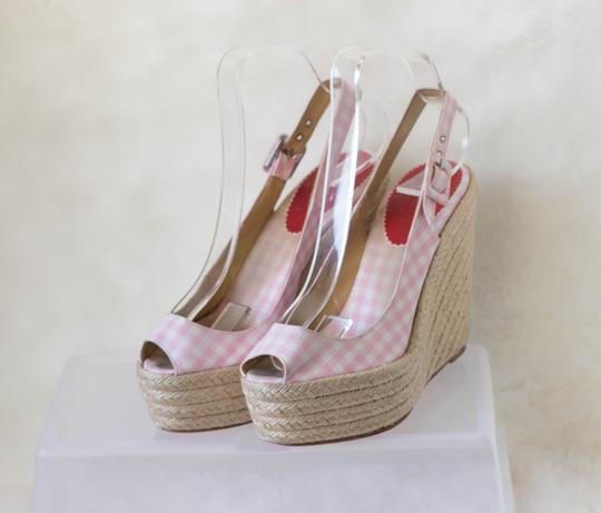 Christian Louboutin Pink Wedges