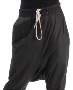 Rick Owens Dropped Crotch Leather Women's Pants